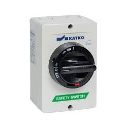 KEM 340U safety switch 3 pole 97x131x106mm_ 40A_ 22kW_ IP66