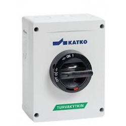 KEM 663U Safety switch 6 pole _ 144x190x131mm_ 63A_ 30kW_ IP66