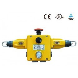 GLHD turvalüliti, 2NO+4NC, plastkorpus, snap action, LED 24DC