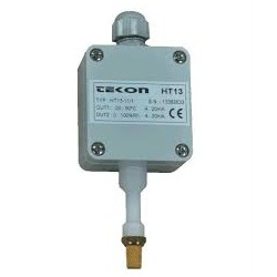 HT13 Relative Humidity and Temperature Transmitter 1 36DC, 0/2-10V, -20…+80C, 0...100%Rh, IP65 (v.a sensor)