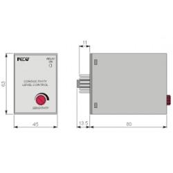 CL1001/U nivookontrolli andur, 110/220AC, -20C...+60C