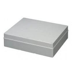 EC410C10 plastkarp, 460x380x120mm, ABS, hall, IP56