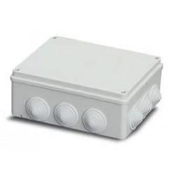EC400C7 plastkarp, 240X190X90mm, ABS, hall, IP55