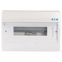 BC-O-1/18-TW-ECO plastkilp, K*L*S 260*410*98mm, pinnapealne, ABS, valge, 1x18 moodulit, IP40