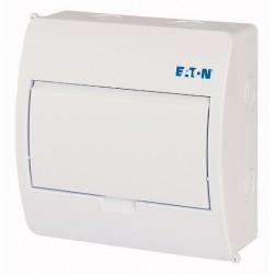 BC-O-1/8-TW-ECO luugiga plastkilp, 195x195x90mm, pinnapealne, ABS, valge, 1x8 moodulit, IP40