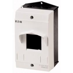 CI-K2-PKZ0 plastkarp, K*L*S 181*100*104mm, pinnapealne, hall/must, IP40, PKZM0 jaoks