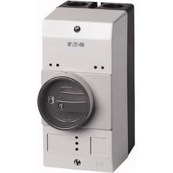 CI-PKZ0-GM plastkarp (mini), K*L*S 158*80*125.5mm, pinnapealne, hall/must, IP55, käepidemega, PKZM0 jaoks