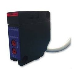 S6-1-A6 fotoandur, 15-264AC/DC, 0,1…6m, relee väljund, retroreflective (komplektis helkur), 18x50x50mm, 2m juhe, IP65
