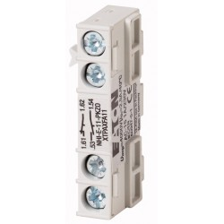 NHI-E-11-PKZ0 auxiliary contact , 1NO+1NC,