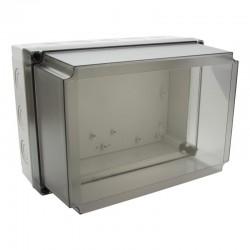 II 150/50 T plastkarbi kaas, 180x130x50mm, polükarbonaat, läbipaistev