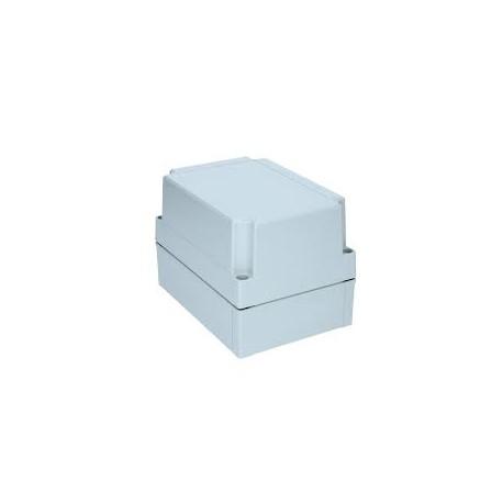 II 150/50 AG plastkarbi kaas, 180x130x50mm, polükarbonaat, hall