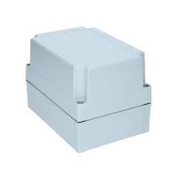 II 150/75 AG plastkarbi kaas, 180x130x75mm, polükarbonaat, hall