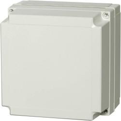 II 175/75 AG plastkarbi kaas, 180x180x75mm, polükarbonaat, hall