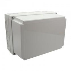 II 200/50 AG plastkarbi kaas, 255x180x50mm, polükarbonaat, hall