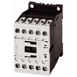 DILM9-01 (24VAC) kontaktor, 9A, 4kW, 1NC abikontakt