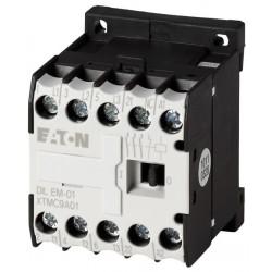 DILEM-10-G(24VDC) minikontaktor, 400V@4kW(3P) + 230V@6A(1NO), kruviklemmid