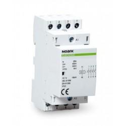Ex9CH25 40 24V 50/60Hz Contactor , 4NO, 25A