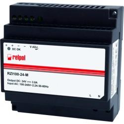 RZI100-24-M power supplies, 24DC, 3,8A, 100W