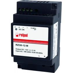 RZI60-24-M toiteplokk, 24DC, 2,5A, 60W