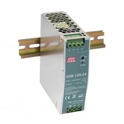EDR-120-24 toiteplokk, DIN, 24DC, 5A, 120W