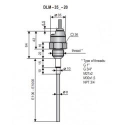 DLM-35N-20-G3/4-I-A-E500-K2
