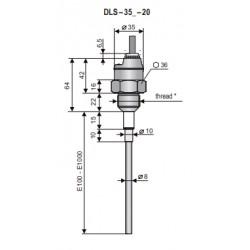 DLS-35N-20-G3/4-P-B