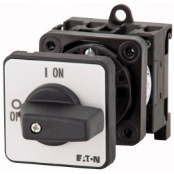 P1-25/Z On-Off switch, 3 pole, 3 pole, OFF-ON (-90°:0°), DIN-põhjakinnitus
