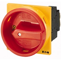 P1-32/EA/SVB Main switch 3 pole, OFF-ON (-90°:0°), OFF-lukustatav, Y/R, N+PE lisaklemmid