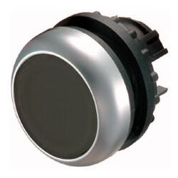 M22-D-S must surunupp, tagastuv, valgustuseta, madala kattega, hõbedase rõngaga