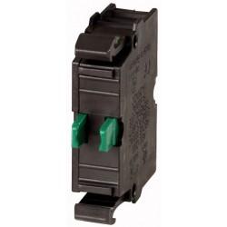 M22-CK10 kontakt, eestkinnitusega, 1NO, vedruklemmi ühendus