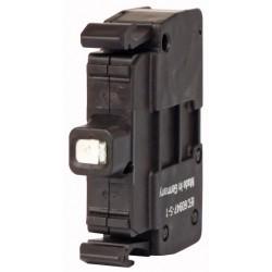 M22-CLED-W valge LED-valgus, 12-30AC/DC, eestkinnitusega, vedruklemmi ühendus