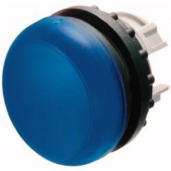M22-L-B sinine signaallamp, valgustuseta, madala kattega