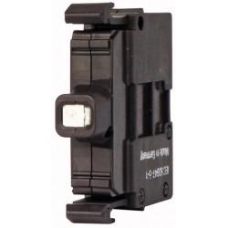 M22-LED-W valge LED-valgus, 12-30AC/DC, eestkinnitusega, kruviklemmi ühendus