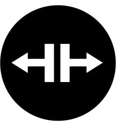 """M22-XD-S-X13 surunupp, must, """"lahenda"""" sümbol, valguseta"""