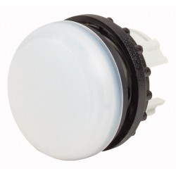 M22-L-W valge signaallamp, valgustuseta, madala kattega