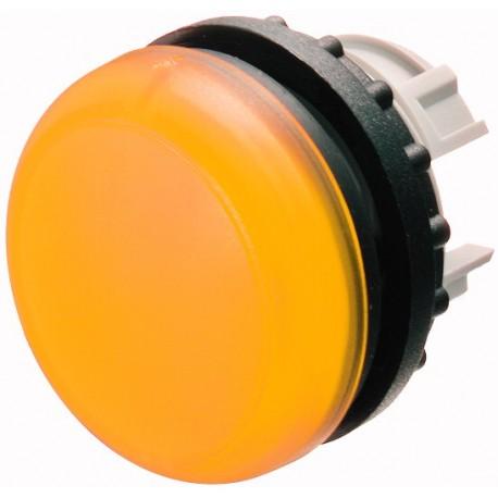 M22-L-Y kollane signaallamp, valgustuseta, madala kattega