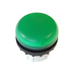 M22-L-G roheline signaallamp, valgustuseta, madala kattega
