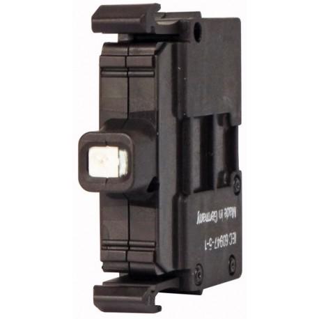 M22-LED230-B sinine LED-valgus, 85-264AC, eestkinnitusega, kruviklemmi ühendus