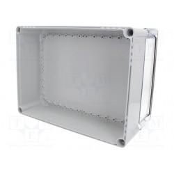 ABS 3828 plastkarbi alaosa, 380x280x100mm, ABS, hall