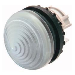 M22-LH-W valge signaallamp, valgustuseta, koonuskattega