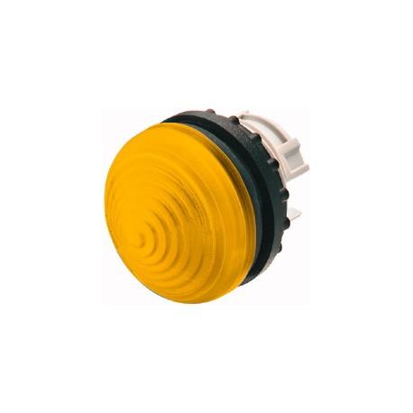 M22-LH-Y kollane signaallamp, valgustuseta, koonuskattega