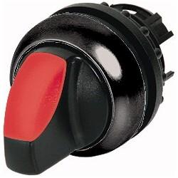M22S-WLK-R punane pöördlüliti, 40°, tagastuv, kahepositsiooniline, musta rõngaga
