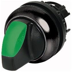 M22S-WLK3-G roheline pöördlüliti, 40°, tagastuv, kahepositsiooniline, musta rõngaga
