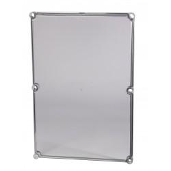 EKT 30-T plastkarbi kaas, 560x280x30mm, polükarbonaat, läbipaistev