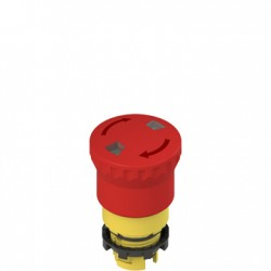 E2 emergency pushbutton red