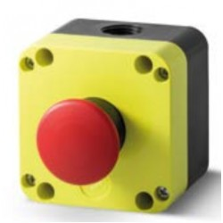 emergency pushbutton red