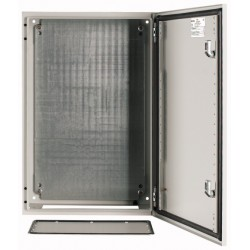Wall enclosure, +mounting plate, 1000x800x300
