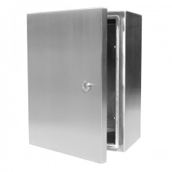 stainless steel enclosure 500x700x210 IP66 Flextec