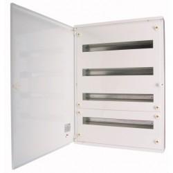 BF-O-3/72-C metallkilp, K*L*S 600*543*140mm, pinnapealne, lehtteras, valge, 3x24 moodulit, IP30