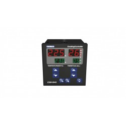 ESM-9945 Cooking Controllers , 230AC, ON/OFF, , 0C...+400C, buzzer, IP65/20